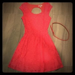 Bright Coral/Pink Candies Dress